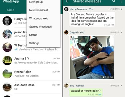 Android Whatsapp Hacks