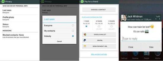 Android Whatsapp Hacks