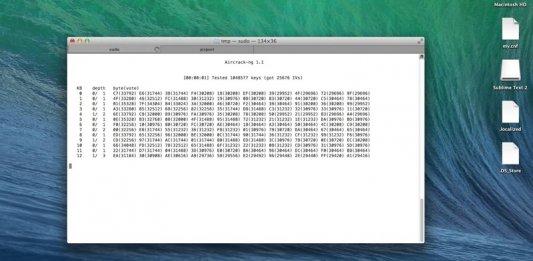 WiFi using WifiSlax 4.11 in Mac OS X and Windows
