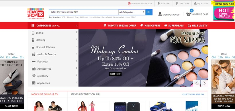 10 best websites for online shopping in india etech for Best websites to online shop